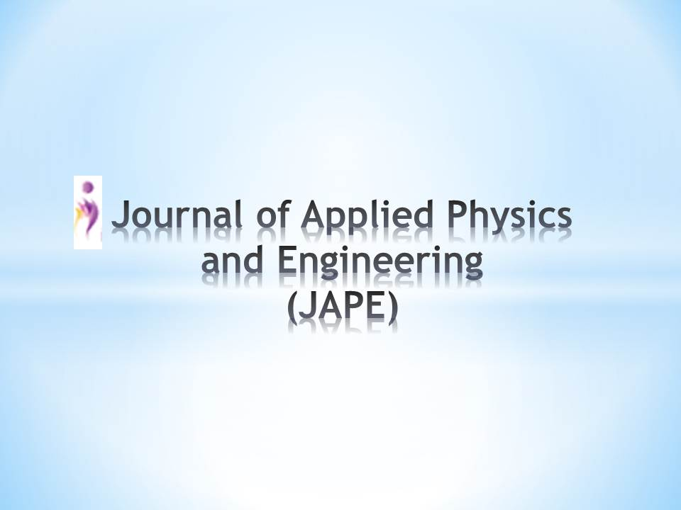 Jape journal jape journal of applied physics pronofoot35fo Image collections